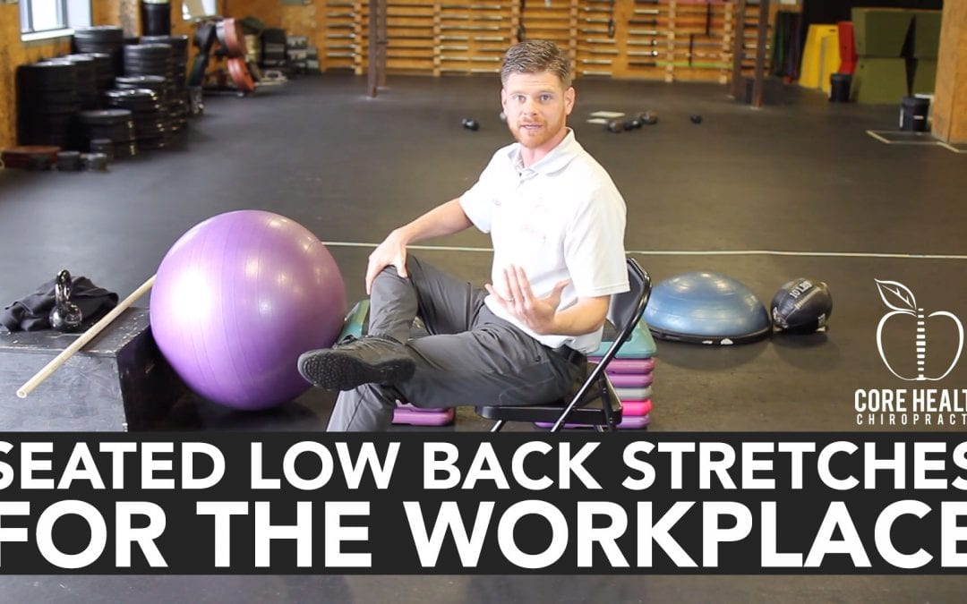 One Small Step: Short Exercises You Can Do to Alleviate Sitting Strain