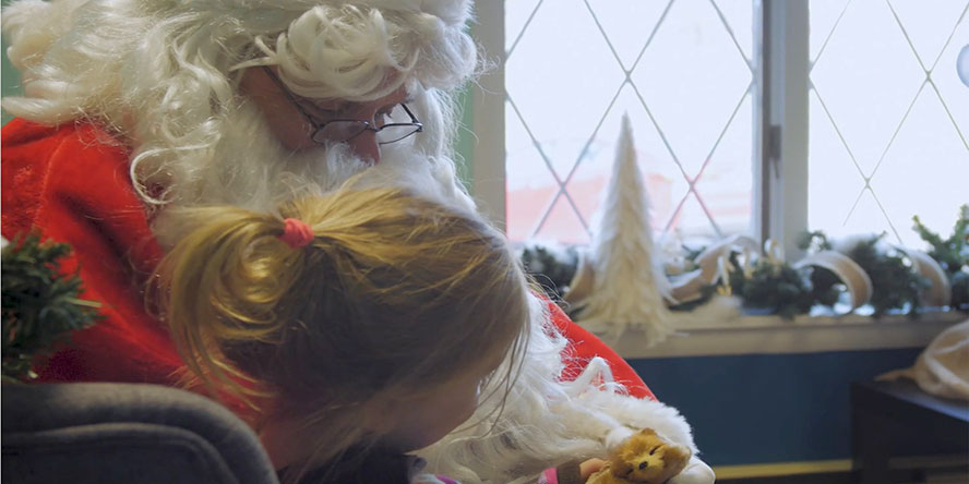 Core Health Berks Loves Sensory Santa