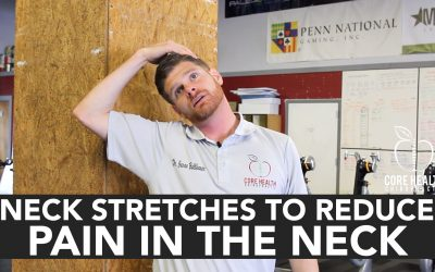 Neck Stretches to Reduce Pain in the Neck