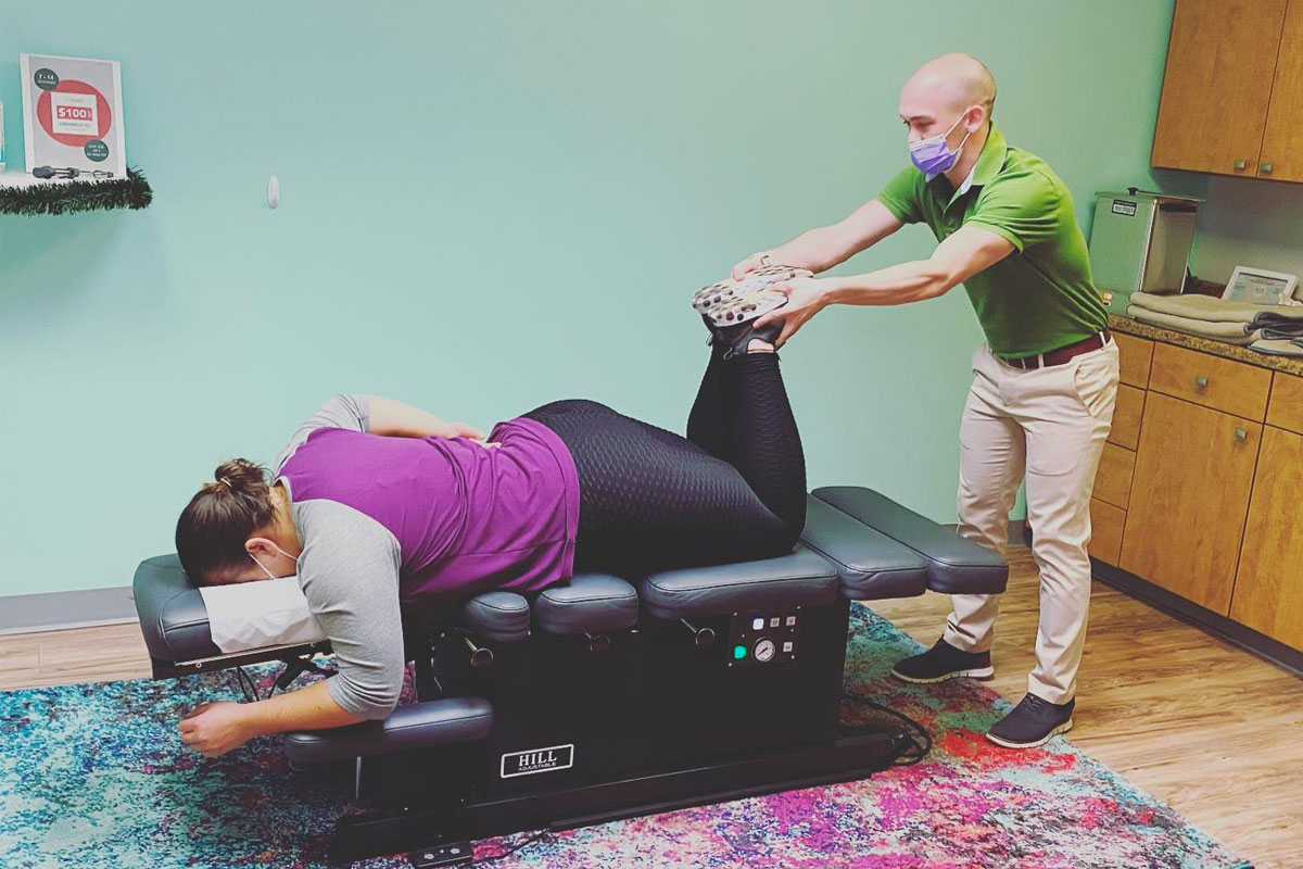 New Year: Time for your Chiropractic Adjustment