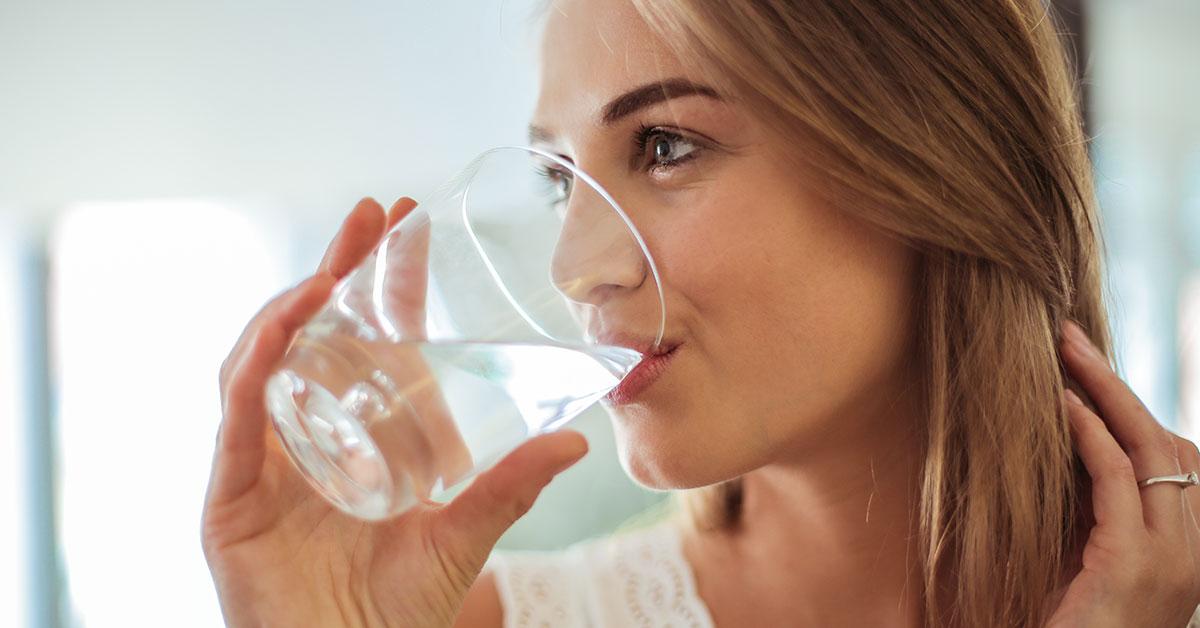 Drink your Water Post Chiropractic Visit